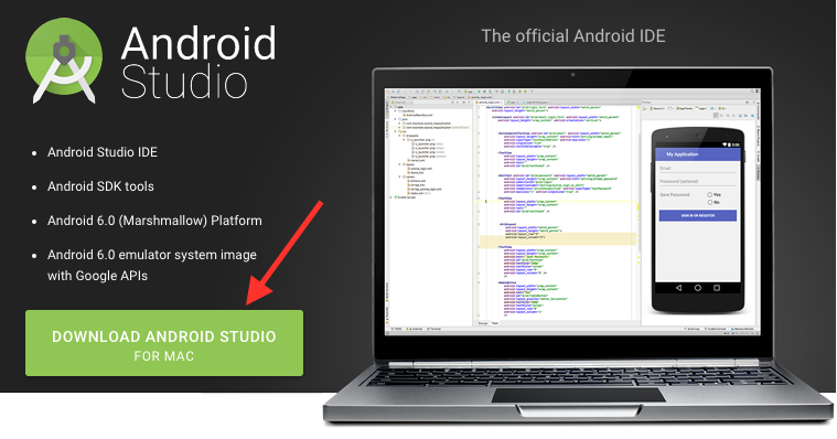 Installing Android Studio on Mac House