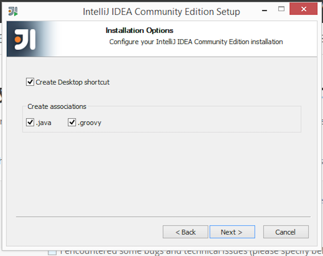 Installing IntelliJ IDEA on Windows